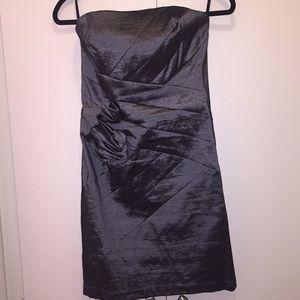 Jessica McClintock Strapless Dress - Knee Length